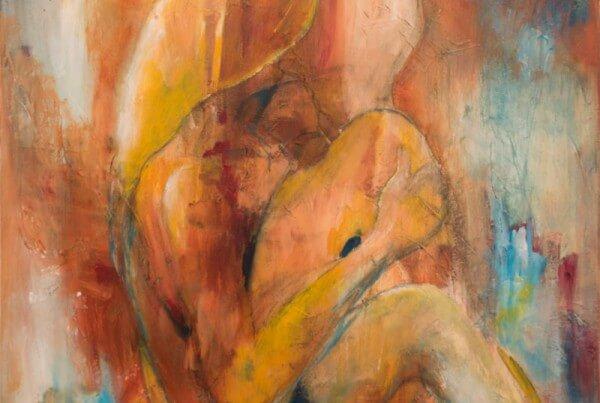 Maleri et særligt øjeblik af Gunhild Rasmussen