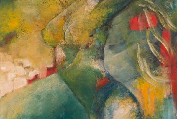 Maleri Frihed af Gunhild Rasmussen