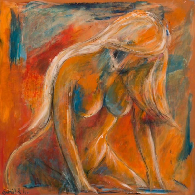 maleri Kærtegn af Gunhild Rasmussen