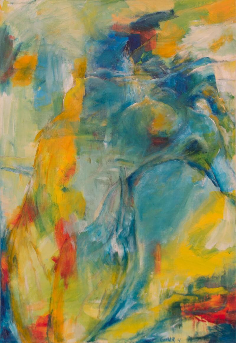 maleri Vægtløs fornemmelse af Gunhild Rasmussen