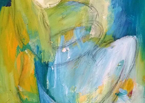 Gensyn maleri af Gunhild Rasmussen