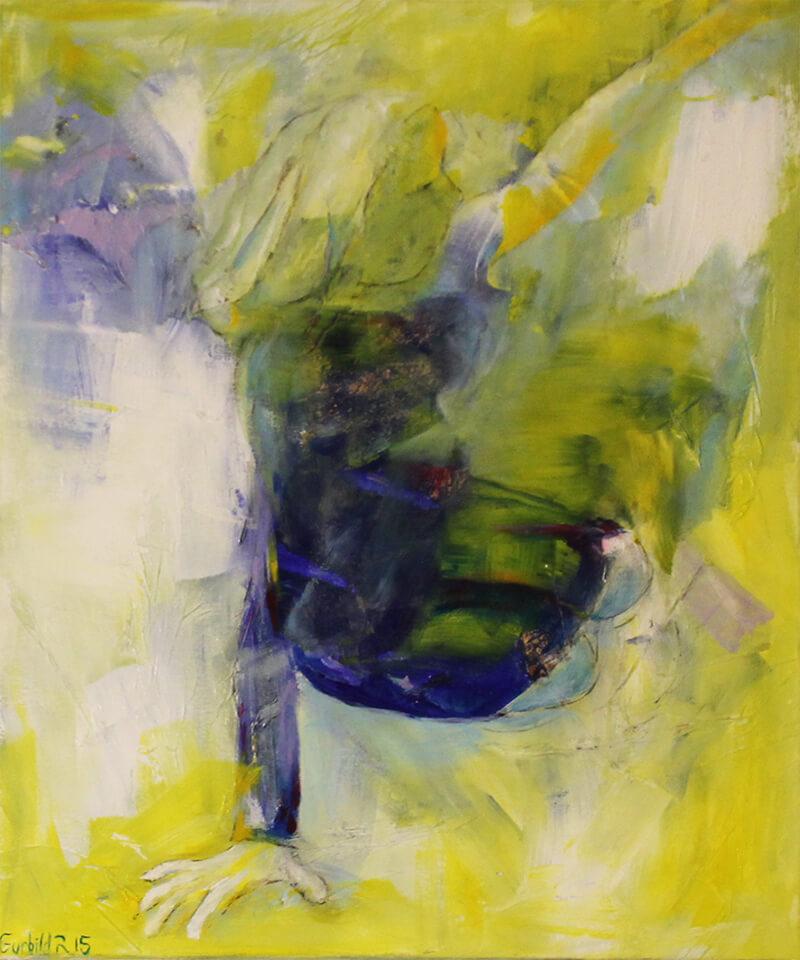 maleri Vi ses af Gunhild Rasmussen