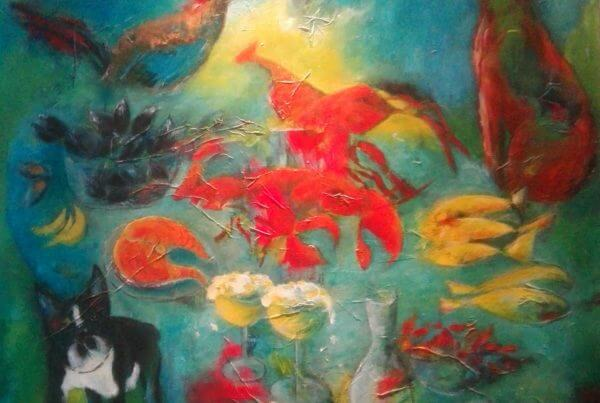 maleri Annes livretter bestillingsmaleri