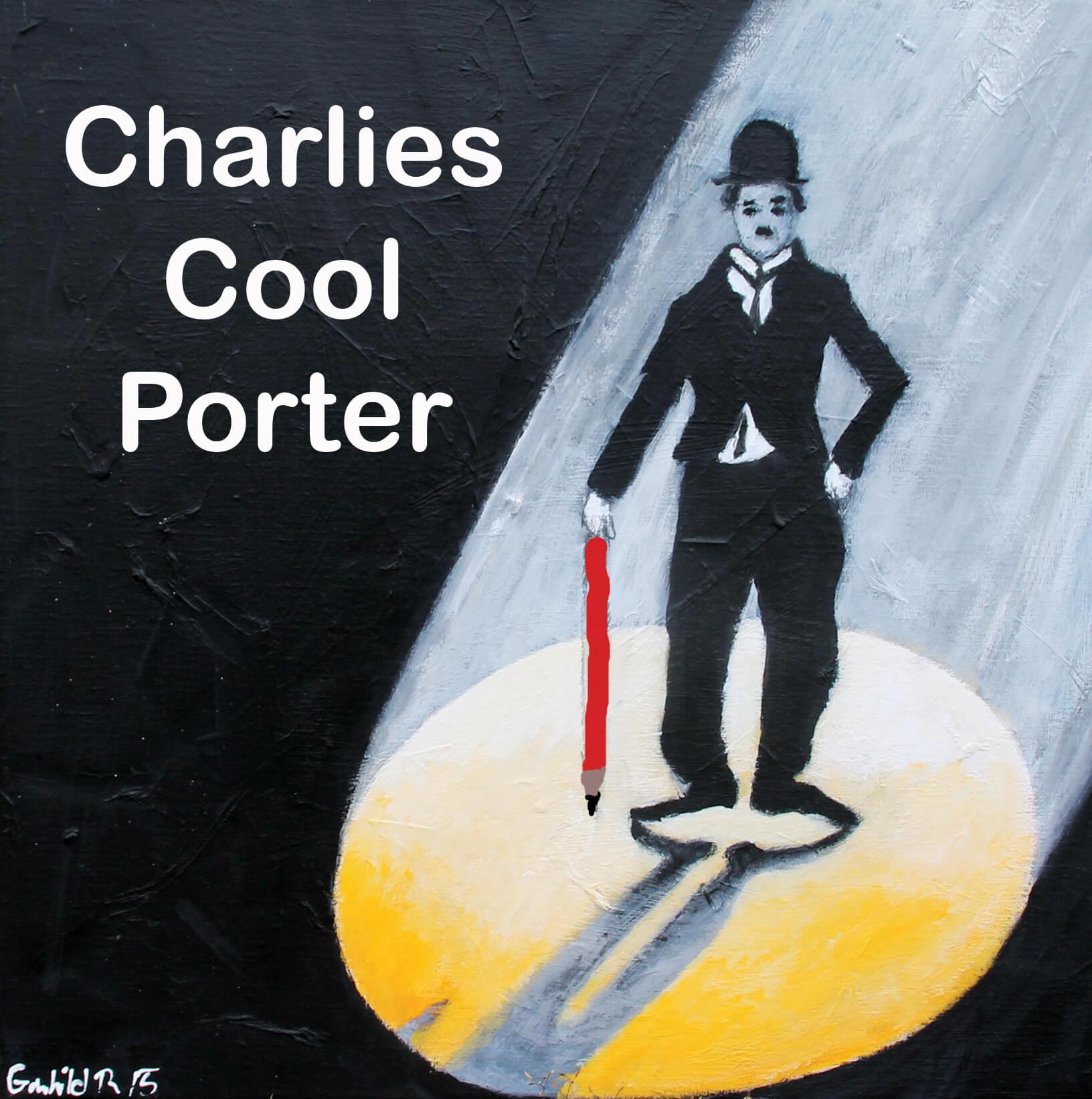 Maleri Charlie af Gunhild Rasmussen