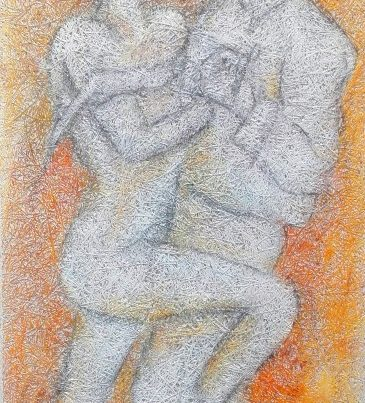 Maleri Passion af Gunhild Rasmussen
