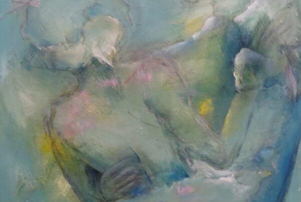 Malei Blå og rosa , Dansende af Gunhild Rasmussen