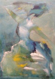 Maleriet svævende lethed af Gunhild Rasmussen