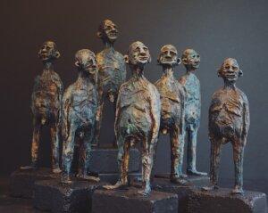 Guttermænd af Anja Moos Wagner , Kunst i Pinsen 21